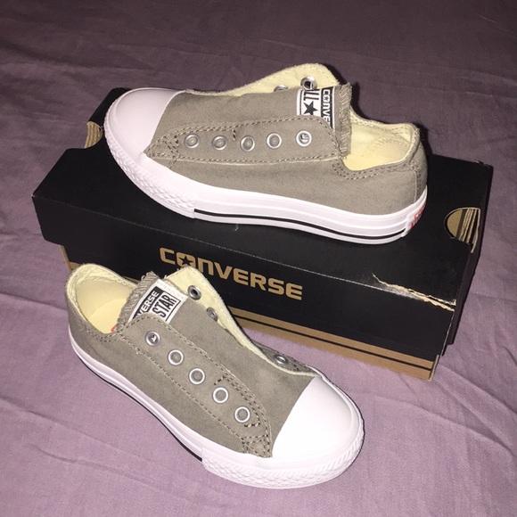 Converse Shoes   Brand New Kids No Lace